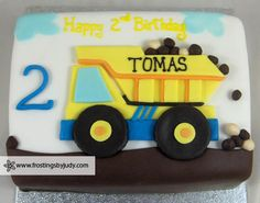 Frostings by Judy - Boys - Dumptruck Cake