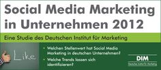 Social Media Marketing in Unternehmen 2012