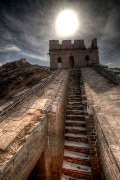 Great Wall of China. I want to go see this place one day. Please check out my website thanks. www.photopix.co.nz