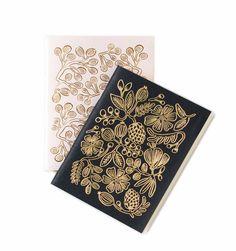$14 for 2 Gold Foil Pair of Pocket Notebooks https://riflepaperco.com/shop/journals/gold-foil-journal/
