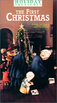 The First Christmas [VHS]: Angela Lansbury, Cyril Ritchard, David Kelley, Dina Lynn, Greg Thomas, Iris Rainer, Joan Gardner (II), Don Messick, Sean Manning, Hilary Momberger, Dru Stevens, Jules Bass, Arthur Rankin Jr.: Amazon: http://www.amazon.com/The-First-Christmas-Angela-Lansbury/dp/6301760336/ref=pd_sim_mov_12
