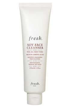 soy face cleanser / fresh-- this is my absolute favorite cleanser / it smells like a spa and it's never too foamy or stripping!