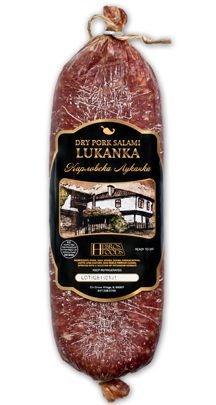 #Bulgaria food the Karlovska Lukanka #meats #lukanka www.mybalkanstore.com. This is site sells Bulgarian food in the U.S.A.