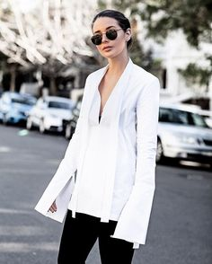 New OUTFIT post now up. The updated white shirt via @theundonestore