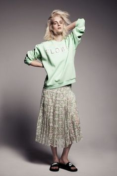 #Mint #Florals #Editorial #Spring #Style #Fashion #BiographyInspiration
