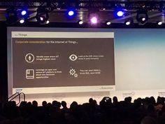 Sarah Cooper @SMC_on_IoT: #IoT You can start small now, but think big... @SAP Tanja Rueckert #iotworld16
