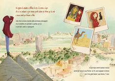 Little Red Riding Hood at Cairo by Giulia Dragone, via Behance