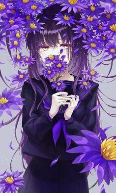 Pretty Anime Girl, Cool Anime Girl, Sad Anime, Beautiful Anime Girl, Kawaii Anime Girl, Anime Art Girl, Anime Girls, Anime Girl Crying, Kawaii Art
