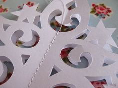 Paper Christmas Tree with Printable Template