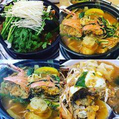 회로 배를 채운 게 후회되는 꽃게탕...... 태어나서 먹어본 것 중 가장 맛있는 꽃게탕의 레벨이 아니라 태어나서 먹어본 음식 중 제일 맛있음. 레알. 알 꽉 찬 꽃게 #instadaily #food #foodie #foodgasm #sushi #sashimi #oysters #koreanfood #healthy #seafood #travel #korea #crab #ganghwado #diet #맛집 #맛스타그램 #먹방 #먹스타그램 #꽃게탕 #해물 #해산물 #스시 #회 #강화도 #인천 #보광호 #다이어트 #건강 by hanajo0123