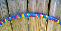 Rainbow Tie Dye HDPE Dance Hula Hoop