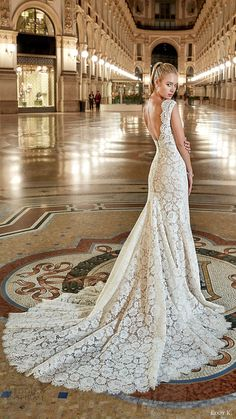 eddy k milano bridal 2017 sleeveless vneck lace sheath wedding dress (md198) mv low back train