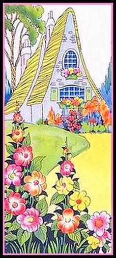 Vintage Art Deco Cottage