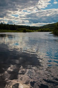 #ADK #Adirondacks #OldForge - Ripples on the Moose River - Old Forge, New York