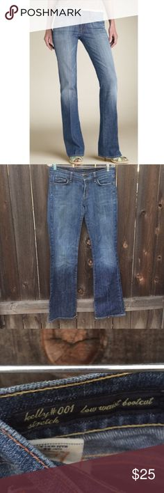 "CITIZENS OF HUMANITY KELLY STRETCH SZ 29 CITIZENS OF HUMANITY KELLY STRETCH SZ 29-WAIST 16.5"" INSEAM 34"" STRETCH Citizens Of Humanity Jeans Boot Cut"