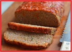 TESTED & PERFECTED RECIPE -- This Italian meatloaf is basically one big giant meatball, or at least that's what I tell my kids so that they'll eat it. Note: use beef/Italian sausage mixture Meatloaf Recipes, Meat Recipes, Cooking Recipes, Recipies, Dinner Recipes, Fun Recipes, Meatball Recipes, Turkey Recipes, Potato Recipes