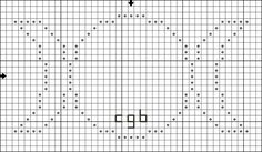 Free Triple Goddess Cross Stitch Pattern - Right click and save this chart from Pinterest and follow the link for the chart info and key.