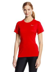 Saucony Women's Hydralite Short Sleeve Tee >>> This is an Amazon Affiliate link. More info could be found at the image url.