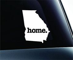 Home Georgia State Symbol Decal Funny Car Truck Sticker Window (White) ExpressDecor http://www.amazon.com/dp/B00TFUMFLS/ref=cm_sw_r_pi_dp_Z472ub0FZ09P9