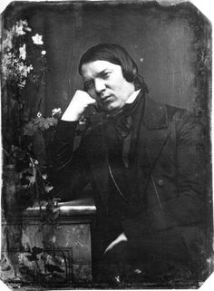 Robert Schumann (1810-1856) was a composer of the Romantic Era who wrote symphonies, concertos, chamber music, piano works and many songs inspired by poetry. His wife Clara was also a respected pianist and composer. Tragically Schumann suffered from mental illness and died in an asylum.