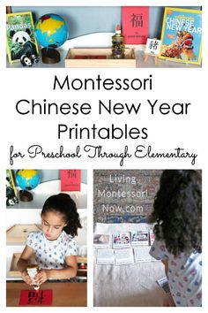 You'll find comprehensive Montessori Chinese New Year printables here for preschool through elementary; perfect for homeschool or classroom - Living Montessori Now Montessori Homeschool, Montessori Classroom, Montessori Toddler, Montessori Activities, Montessori Elementary, Homeschooling, Kindergarten Themes, Preschool Themes, Preschool Lessons