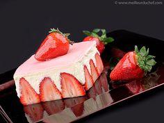 Recette fraisier testée et approuvée