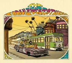 """seanhowe: """"The Fabulous Furry Freak Brothers by Gilbert Shelton """" Underground Comics, Fat Freddy's Cat, Gilbert Shelton, Comic Art, Life In The 70s, Retro Surf, Surf Design, Ligne Claire, Brother Quotes"""