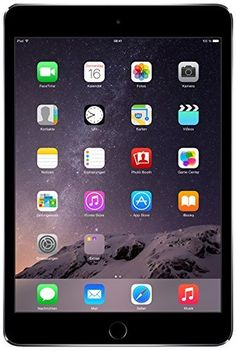 Apple Mgnr2ll/A Ipad Mini 3 (Space Gray) - (1.3 Ghz Processor, 1 Gb Ddr2 Ram, 16Gb Hdd, Apple Ios 8), 2015 Amazon Top Rated Tablets #PersonalComputer