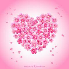 Sakura and cherry blossom hugs Flower Phone Wallpaper, Pink Wallpaper Iphone, Heart Wallpaper, Love Wallpaper, Heart Emoji, Shiva Wallpaper, Beautiful Flowers Wallpapers, Snoopy Love, Jolie Photo