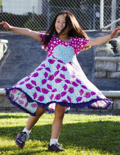 Girls heart dress from TwirlyGirl.  Our Pitter Patter Dress will make your heart skip a beat.  CLICK HERE to see. http://www.twirlygirlshop.com/kids-dress-party #girls-heart-dress