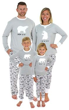 Sleepyheads Holiday Family Matching Polar Bear Pajama PJ Sets - Mens  (SHM-4038-M-XL)  pajamas  christmaspajamas  familypajamas  kidspajamas ... 4d513c787