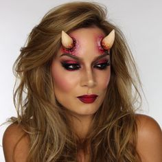 Make Up Through My Eyes - ShowMe MakeUp • Today I created this 'She-Devil' makeup for...