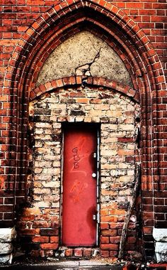 Berlin, German. I would bet this doorway has incredible stories to tell.