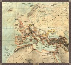 Europe in 400AD.
