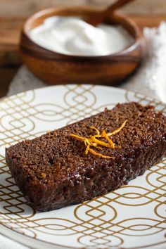 Chocolate and orange are a traditional pairing, but not one that I've always liked. Chocolate has all the muscle in the partnership. It mocks the pleading, too-sweet orange. But there is such a difference when you use Seville oranges. The plain cocoa-dark loaf here, drenched in bitter orange syrup, is unfussy but sensational. (Photo: Craig Lee for The New York Times)