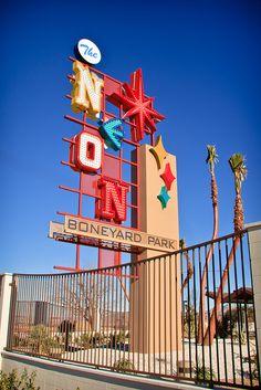 Neon Boneyard Park vegas baby