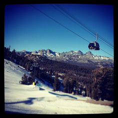 Home! Mammoth Mountain.
