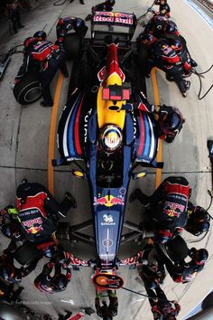Red Bull Pit
