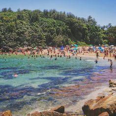 Shelly Beach, Sydney. Photo courtesy of readysetjetset on Instagram.