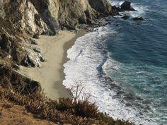 California Coast line from LA to SF