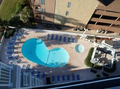 Forest Dunes outdoor heated pool and kiddie pool.