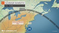 Jet stream lifts well north of the region bringing a mild and dry Wednesday to the region.