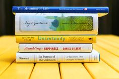Book Spine Poetry - Poetry Month April 2013