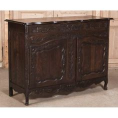 Antique Furniture | Antique Buffets-Sideboards | Antique Country French Buffets | Antique Country French Buffet | www.inessa.com