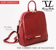 A New Day with a New Arrival: TL BAG Soft Leather Backpack for Women. The #Fashion Side of #Backpacks.  #tuscanyleather