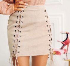 Las faldas cortas más lindas de la temporada @lostruquitosdeellas