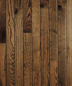 Love the rustic look of this solid hardwood flooring!