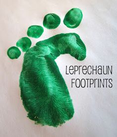 Love the little Leprechaun tricks!