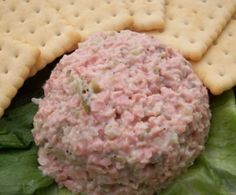 Cold Ham Salad Sandwich Spread (Or Appetizer) Recipe - Genius Kitchen Best Party Appetizers, Bread Appetizers, Appetizer Recipes, Baked Chicken Wings, Chicken Livers, Sandwich Spread, Salad Sandwich, Deviled Ham Recipe, Ham Salad Recipes