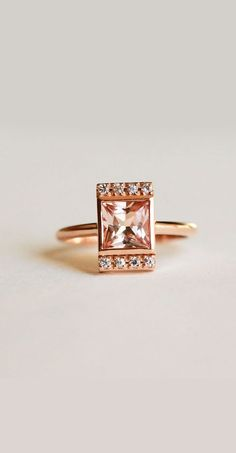 100 The most beautiful engagement rings you'll want to own Most Beautiful Engagement Rings, Elegant Engagement Rings, Princess Cut Engagement Rings, Perfect Engagement Ring, Engagement Ring Cuts, Wedding Rings, Morganite Engagement, Morganite Ring, Ring Designs